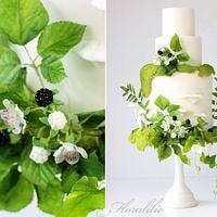 Woodland Wedding Cake for DIY Weddings Magazine