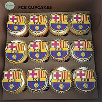 Cupcakes del Barcelona FC