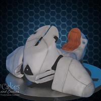 Halo Spacecraft Cake