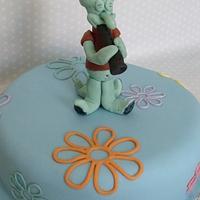 squidward cake by zoe