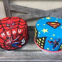 Spiderman  vs Superman
