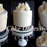 Kristy's Wedding cake