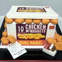 McDonalds McNugget Cake