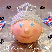 More Diamond Jubilee Cupcakes