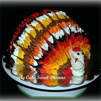 Turkey Cake by My Cake Sweet Dreams