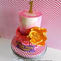 Pink & Gold by iriene wang