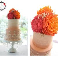 Coral Wedding by the Sea