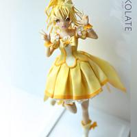 GlitterPeace Sculpted cake doll