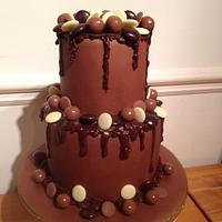 My sons birthday cake
