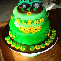 Tractor Farm Cake