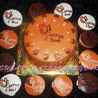 Coffee&soul logo Cake and Cupcakes