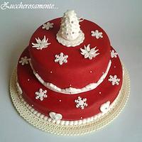 Christmas cake for my family