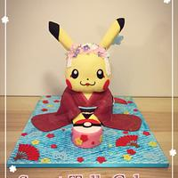 Pikachu in Kimono