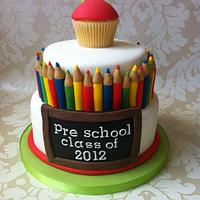 a pre school leaving cake!