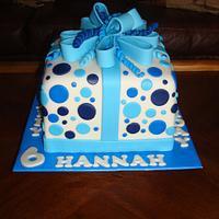 Present Birthday Cake
