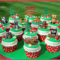 Wilderness cupcakes