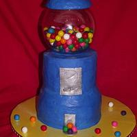 Gum Ball Cake!