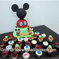 Mickey Mouse Club House Cake..