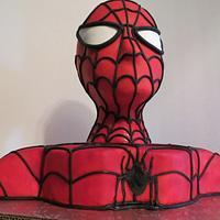 Spiderman Cake by Nancy T W.