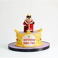 The King Taz Cake