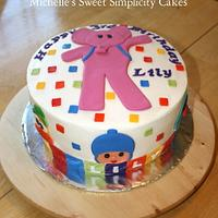 Pocoyo Cake for Lily