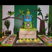 Jungle theme birthday