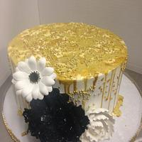 Gold Drippings