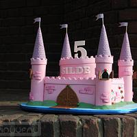 Girls Castle Cake