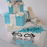 Tiffany & Co. Kitchen Tea/ Bridal Shower Cake