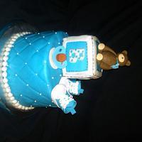 Its a Boy Elegant Cake