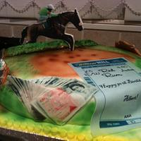 betting cake  by mick