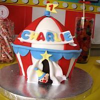 Circus Tent Cake