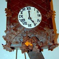 Coo Coo Clock Cake