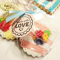Cookies made with love