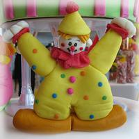 Circus Clown cake by CuriAUSSIEty  Cakes