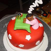 Snoozing Cake