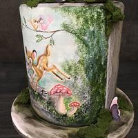 Bambi Disney Cake