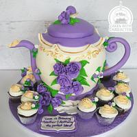 Engagement party tea set