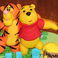 Tigger and Winnie the Pooh Cake Topper