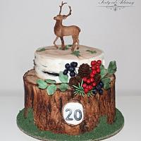 ... hunting cake ...