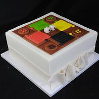 Ludi Board Cake