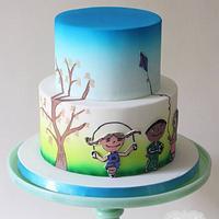 Tree of Hope Cake
