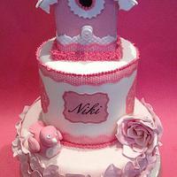 bird house cake by The lemon tree bakery