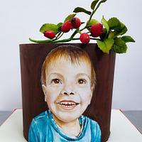 Beau Portrait Cake
