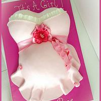 Feminine Baby Shower Cake
