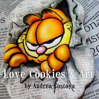 Garfield 2D cookie