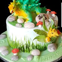 Alkylosaurus cake
