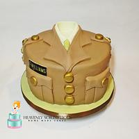 Cake for Royal Logistic Corps soldier !