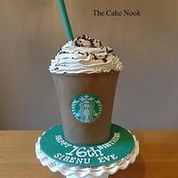 Starbucks Frappacino Cake