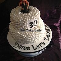 Fab 30 cake